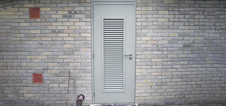 Steel Hinge Doors